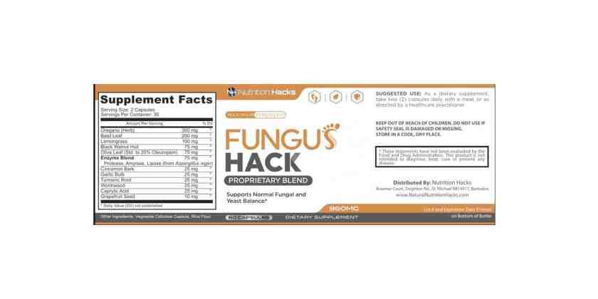 Fungus Hacks Dosage