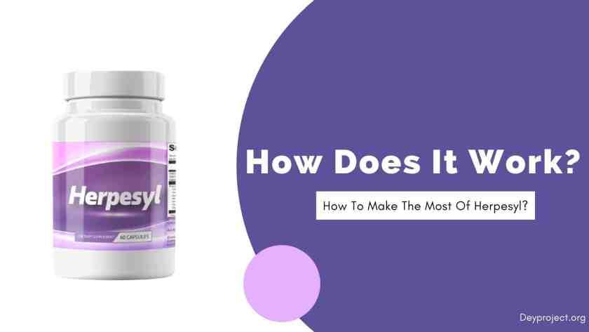 How Does Herpesyl Work?