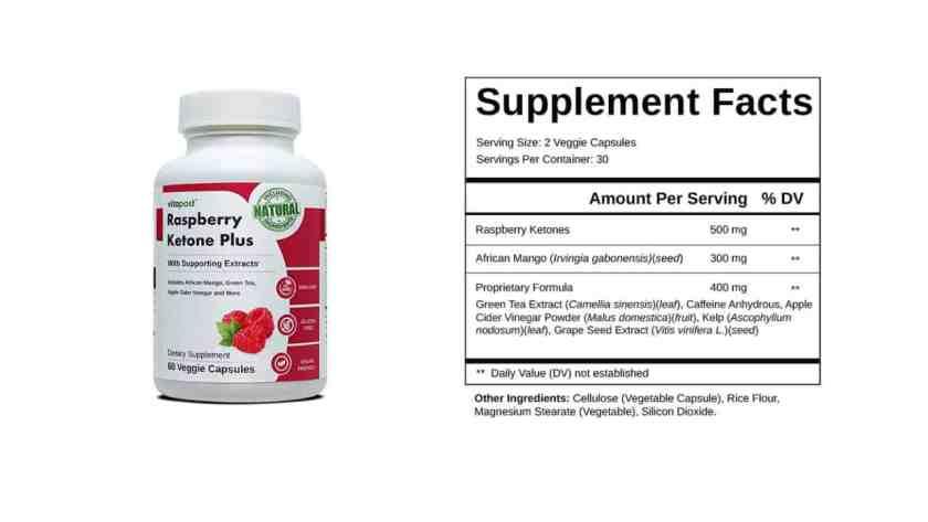 Raspberry Ketone Plus dosage