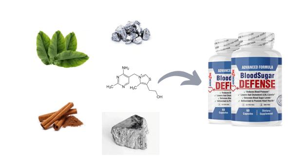 AmeriCare Blood Sugae Defense Ingredients