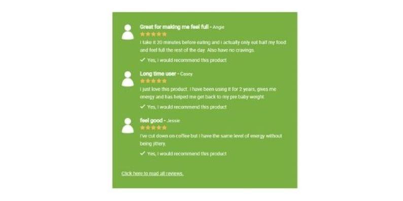 Green Coffee Plus Customer Reviews