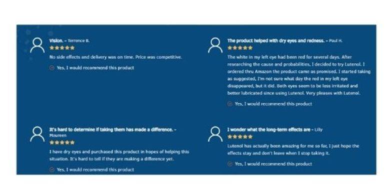 Lutenol Customer Reviews (1)