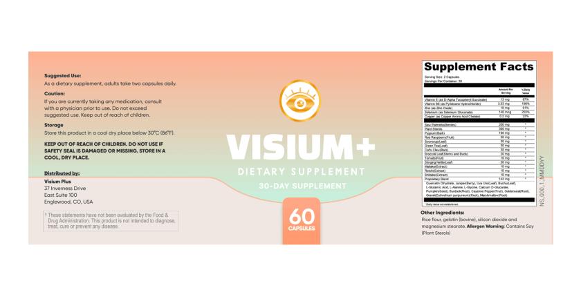 Visium Plus Dosage