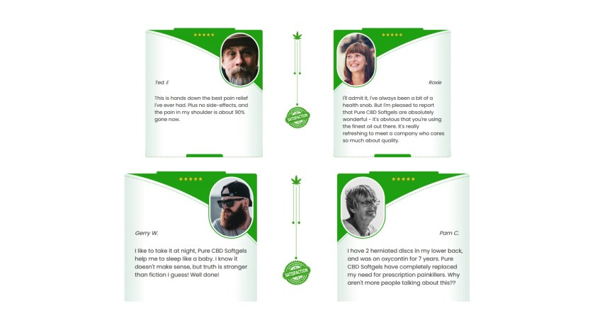 Pure CBD SoftGels UK Customer Reviews