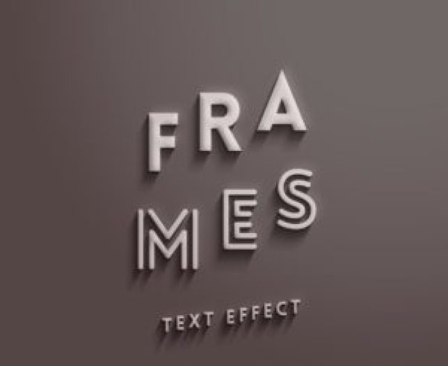 22_Frames-text-effect