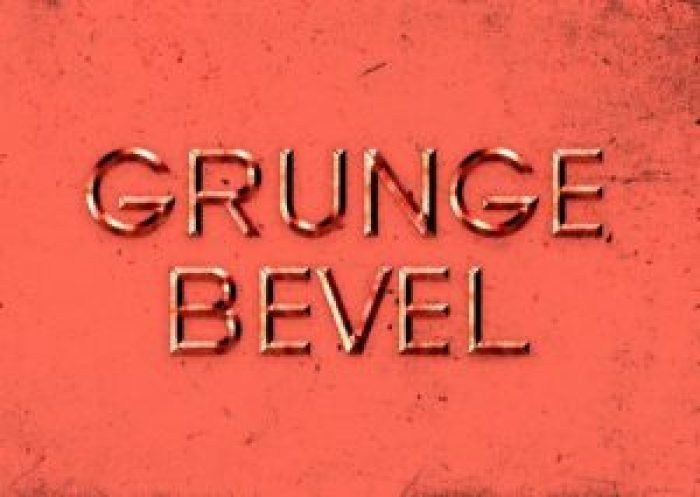 24_Grunge-Bevel-Text-Effect