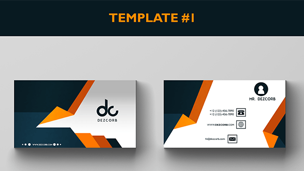 Business Card Mockup #1 | Free Download - Dezcorb