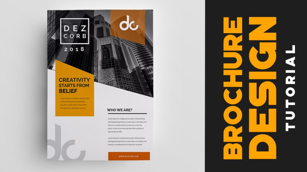 How to design brochure in photoshop cs6 yellow for How to design a brochure in photoshop