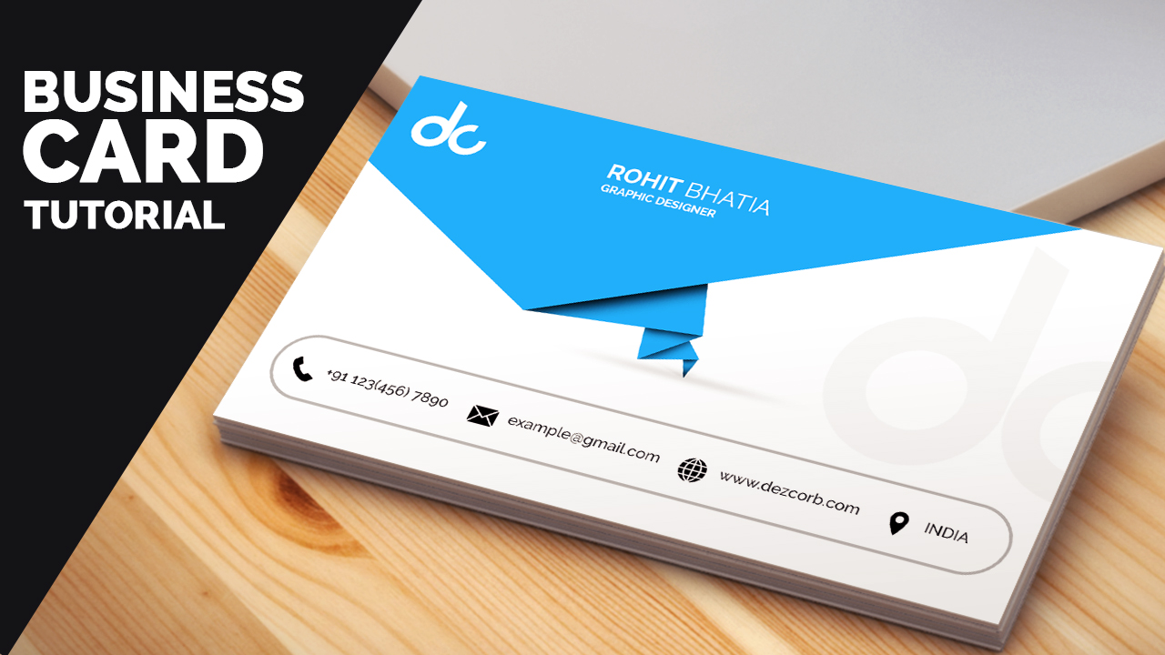 business card design in photoshop cs6 tutorial   Learn Photoshop ...