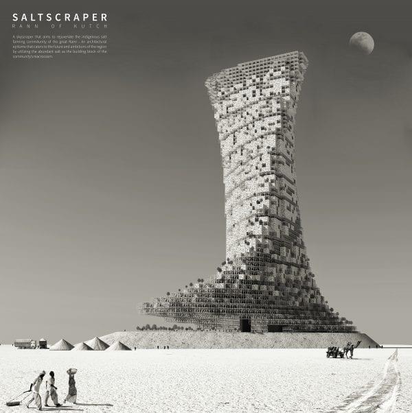 Saltscraper in India