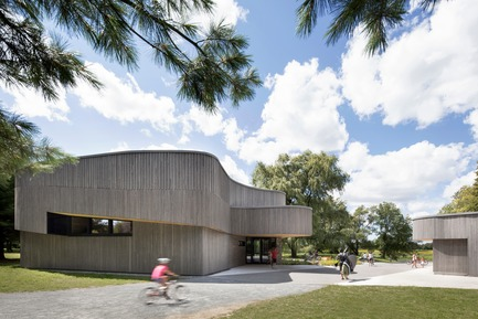 Press kit   1117-03 - Press release   The Îles-de-Boucherville National Park Wins Several Architecture Prizes - Smith Vigeant architectes - Institutional Architecture - The hub - Photo credit: Adrien Williams