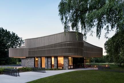 Press kit   1117-03 - Press release   The Îles-de-Boucherville National Park Wins Several Architecture Prizes - Smith Vigeant architectes - Institutional Architecture - An harmonious assembling of textures - Photo credit: Adrien Williams