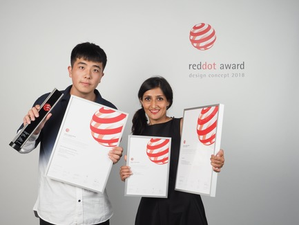 Press kit   2188-03 - Press release   Red Dot Award: Design Concept 2018 Results - Red Dot Award: Design Concept - Competition - Qinhuangdao i-TAOQI Industrial Design for the design concept SRS-Portable Pneumatic Float Bridge - Photo credit: Red Dot Award: Design Concept