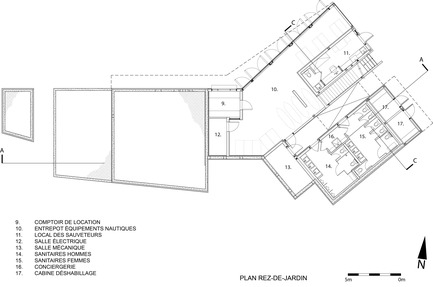 """Press kit   2263-01 - Press release   The """"Centre de Services Le Bonnallie"""" - Anne Carrier architecture - Institutional Architecture - Photo credit: Anne Carrier architecture"""