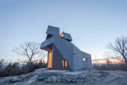 Press kit   809-21 - Press release   AZURE Reveals the Winners of the 2017 AZ Awards - AZURE - Competition -   Gemma Observatory, Central New Hampshire, U.S.<br>Anmahian Winton Architects, Cambridge, U.S.<br>Best Architecture Under 1,000&nbsp;Square Metres - 2017 AZ Awards   - Photo credit: AZURE