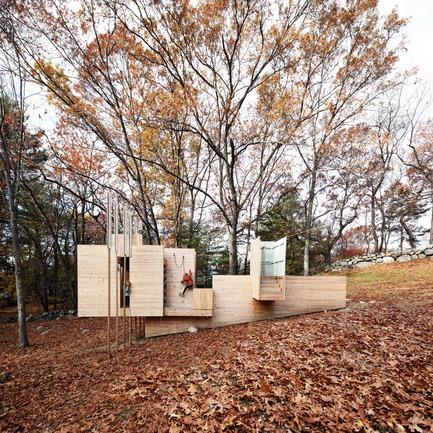 Press kit   809-21 - Press release   AZURE Reveals the Winners of the 2017 AZ Awards - AZURE - Competition -  Five Fields Play Structure, Lexington, U.S.<br> Matter Design, Boston, U.S., and FR SCH Projects, Lexington, U.S.<br>Best Recreational Architecture - 2017 AZ Awards  - Photo credit: AZURE