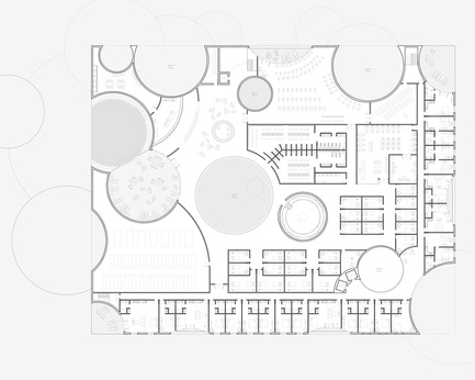 Press kit   2255-01 - Press release   Liepāja Thermal Bath receives 2016 AAP American Architecture Prize - Steven Christensen Architecture - Institutional Architecture - Plan, Level 3 - Photo credit: Steven Christensen Architecture