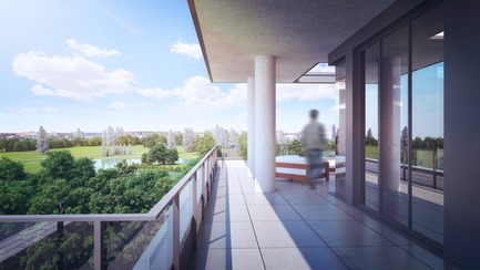 Press kit | 3070-01 - Press release | DevMcGill and TGTA Win a Prestigious INOVA Award Presented by IDU for Their Project Le Castelnau - DevMcGill - Residential Architecture - Penthouse - Photo credit: DevMcGill