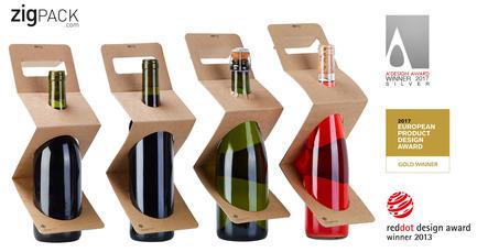 Press kit | 2455-01 - Press release | ZIGPACK - Xavier Bernis - Graphic Design - Photo credit: AWARDS
