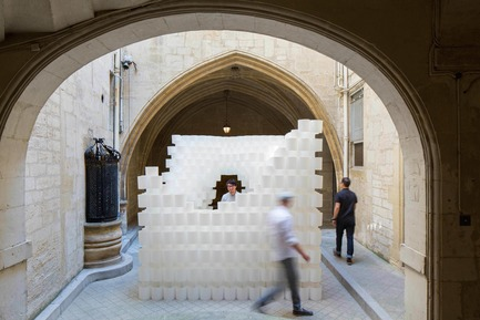 Press kit   982-37 - Press release   Festival des Architectures Vives 2017 - Association Champ Libre - Festival des Architectures Vives (FAV) - Event + Exhibition - Studio 3A - Paper Cloud - Photo credit: ©photoarchitecture.com