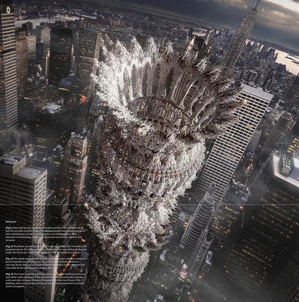 Press kit | 1127-13 - Press release | Winners 2017 eVolo Skyscraper Competition - eVolo Magazine - Competition - Human Castell - honorable mention - Photo credit: Tamin Song, Jin Woo Kuk, Sun Hee Yoo, Bruce Han, Gangmin Yoo, Jun Sun Baek