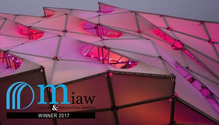 Press kit   2276-04 - Press release   MIAW 2017: And the Winners Are - ArchiDesignclub by Muuuz - Competition - MDT-TEX - Eye Beacon - Photo credit: (c) muuuz