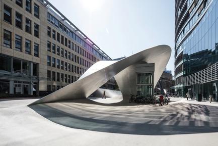 Press kit   2321-01 - Press release   Bringing Together Urban Design, Architecture and Art - schneider+schumacher - Urban Design - Joyful wave<br> - Photo credit: © schneider+schumacher