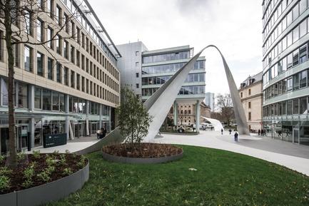 Press kit   2321-01 - Press release   Bringing Together Urban Design, Architecture and Art - schneider+schumacher - Urban Design - Glorious arch<br> - Photo credit: © schneider+schumacher