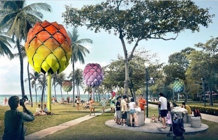 Press kit   661-35 - Press release   World Architecture Festival 2016 – Day One Winners of International Architectural Awards Announced - World Architecture Festival (WAF) - Institutional Architecture -  <br><br>  - Photo credit: Experimental - Future Projects:&nbsp;Spark Architects, Beach Hut, Singapore