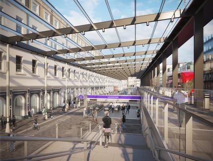 Press kit   2239-01 - Press release   The Paddington Integrated Project (PIP) - Weston Williamson + Partners - Urban Design - Paddington Crossrail Station 1 - Photo credit: © WestonWilliamson+Partners