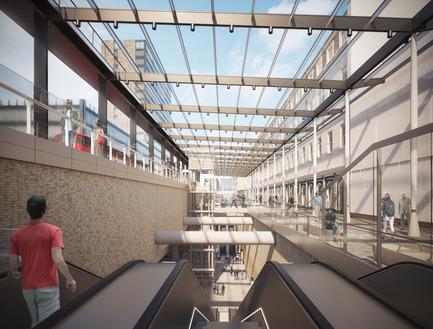 Press kit   2239-01 - Press release   The Paddington Integrated Project (PIP) - Weston Williamson + Partners - Urban Design - Paddington Crossrail Station 3 - Photo credit: © WestonWilliamson+Partners