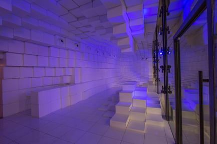Press kit | 2132-01 - Press release | SOMA Designed Unilux is a Winner in this Year's Architizer A+Awards - SOMA - Commercial Interior Design - UNILUX Showroom - Photo credit: SOMA