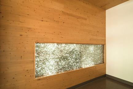 Press kit | 755-04 - Press release | Alouette University Building, UQAC - BGLA | Architecture + Design urbain - Institutional Architecture - recycled aluminum foam cladding - Photo credit: BGLA