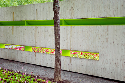 Press kit   837-13 - Press release   Participatory Gardens for the 16th International Garden Festival - International Garden Festival / Reford Gardens - Landscape Architecture -   SECRET «&nbsp;CADAVRE EXQUIS&nbsp;» (2014)<br> Nomad Studio [William E. Roberts, Laura Santin]<br> <br> New York,&nbsp;United States<br><br>www.thenomadstudio.net   - Photo credit: Sylvain Legris
