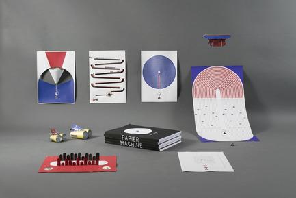 Press kit   2188-01 - Press release   Red Dot Award: Design Concept 2016 Results - Red Dot Award: Design Concept - Industrial Design - Papier Machine - Photo credit: Red Dot Award: Design Concept