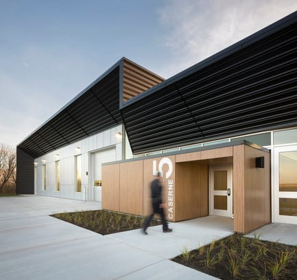 Press kit - Press release - Fire Station #5 - STGM Architects + CCM2 Architects