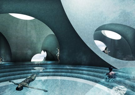 Press kit - Press release - Liepāja Thermal Bath receives 2016 AAP American Architecture Prize - Steven Christensen Architecture