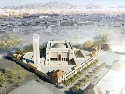 Press kit - Press release - The Marseille Grand Mosque - Bureau Architecture Méditerranée