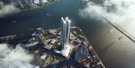 Press kit | 1968-07 - Press release | Winners of the 2017 American Architecture Prize Announced - AAP - The American Architecture Prize - Commercial Architecture - Architectural Design Of The Year: Hengqin International Financial Center by Aedas - Photo credit: Aedas Limited<br>