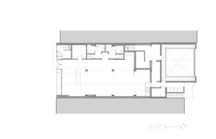 Press kit | 780-05 - Press release | Van Horne - Paul Bernier Architecte - Residential Architecture - Ground floor plan - Photo credit: Paul Bernier Architecte