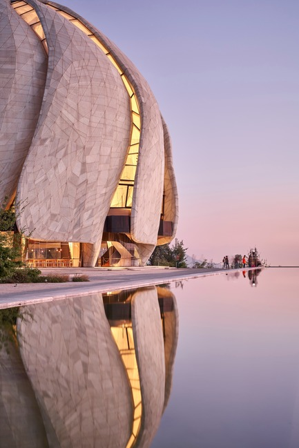 Press kit   1020-05 - Press release   Buildings in Peru, Senegal and Chile are finalists for the 2019 RAIC International Prize - Royal Architectural Institute of Canada - Competition - Baha'i Temple of South America, Chile – Hariri Pontarini Architects (Toronto, Canada) - Photo credit: doublespace photography<br>