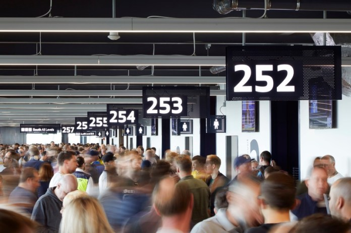 Press kit   1124-25 - Press release   WINWAN Live 2019: World Interiors News Winners - Haymarket Media Group - World Interiors News - Event + Exhibition - Tottenham Hotspur Stadium - Populous - Photo credit: Hurfton & Crow