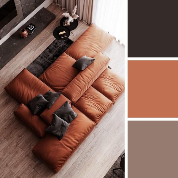 Aglaia.Studio Apartment – Living Room