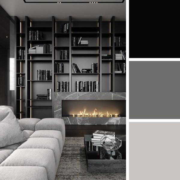 Grey Tints Apartment – Living Room