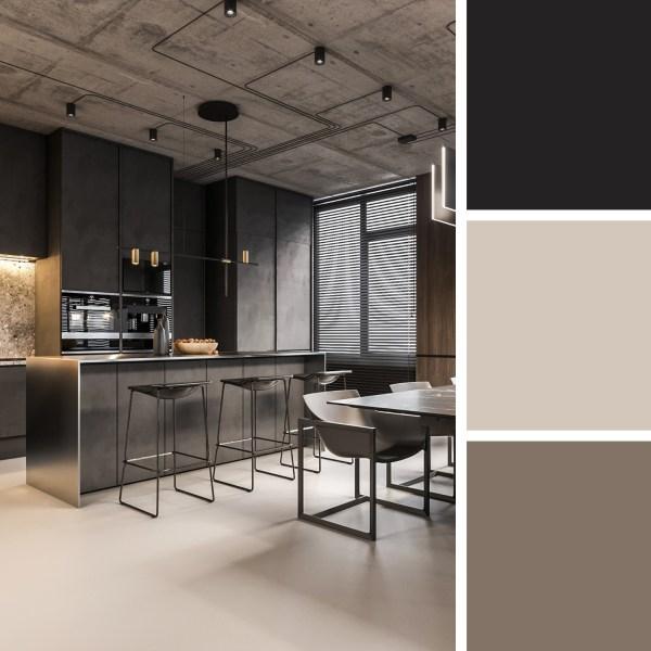 Loft Style Apartment Design – Kitchen