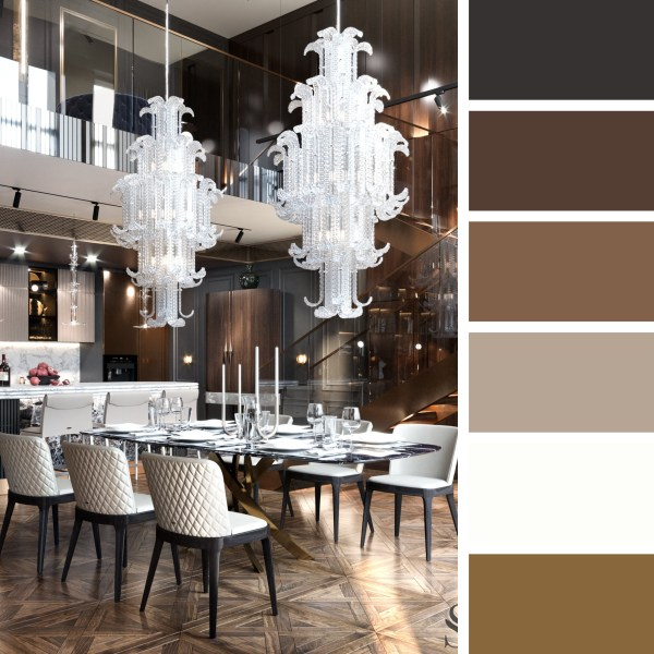 Luxury Apartments in Moscow – Dining Room