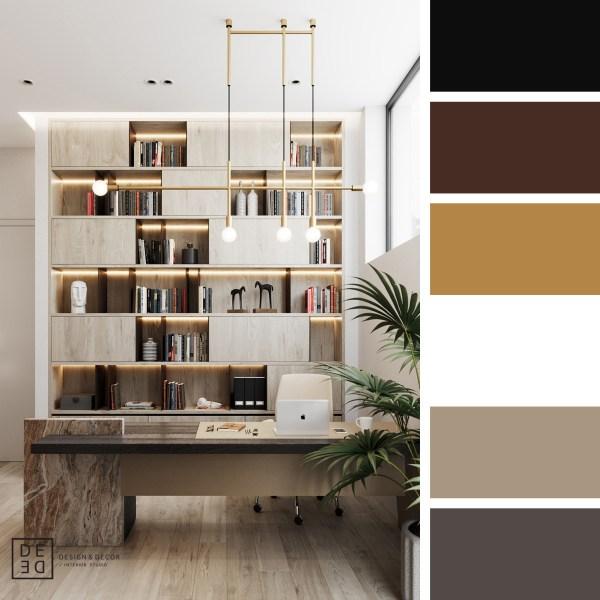 DE&DE Villa in Cyprus First floor – Work Area