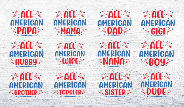 4th of July SVG Vector Collection File