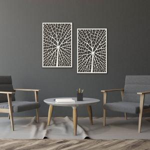 Decorative Diptych, Living room decor, Wooden Decor