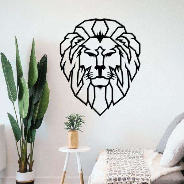 Lion Wall Decor, Lion Metal Wall Art, Metal Wall Decor